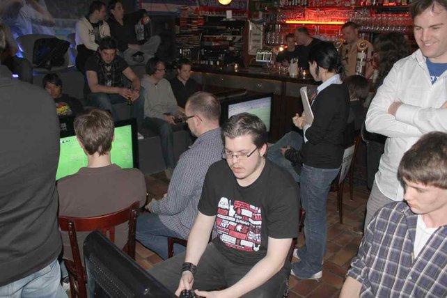 Voll im Gange: der PES Media Cup 2011.