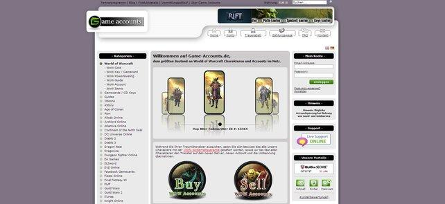 Auch wenn es Angebote im Internet gibt: Der Verkauf von Accounts ist nicht erlaubt!