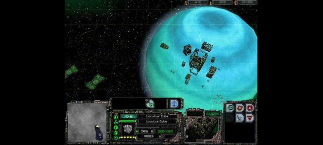 Selbst die Borg dürft ihr übernehmen (Star Trek: Armada).