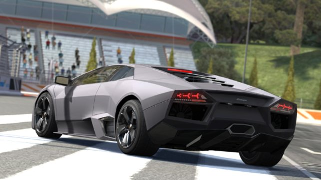 Dieser schnieke Lamborghini ist auch Teil eures Fuhrparks.