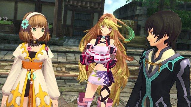 Die Figuren gehören zu den grafischen Höhepunkten der aktuellen Tales-Episode.