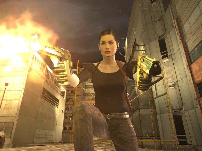 Wo Mona Sax auftaucht, ist es ziemlich schnell ziemlich heiß (Max Payne).