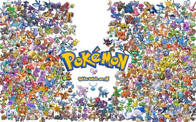 Manche setzen sich wirklich das Ziel, alle 721 Pokémon zu fangen. Verrückt.