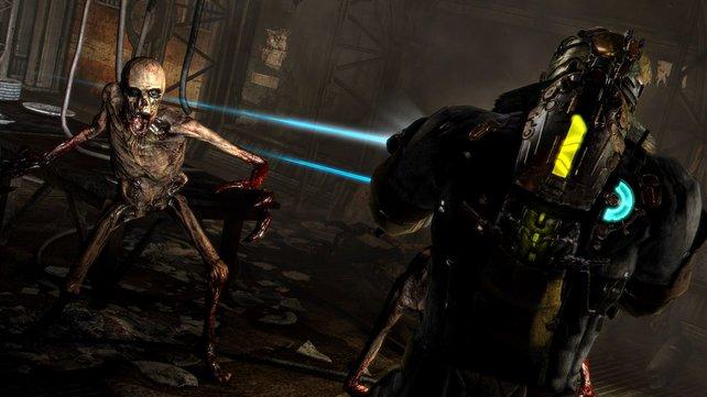 Zum dritten Mal stellt sich Held Isaac Clark den hässlichen Necromorph.