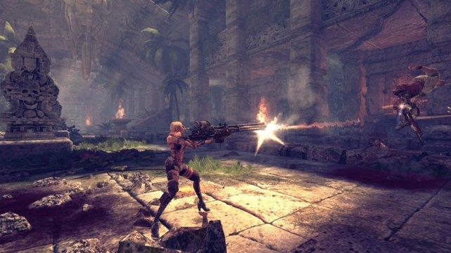 Blades of Time setzt auf realistischere Grafik als sein Vorgänger.