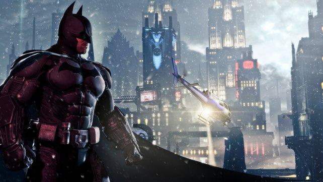 Die Nacht ist seine Welt: Batman stellt sich in Arkham Origins neuen Gefahren.