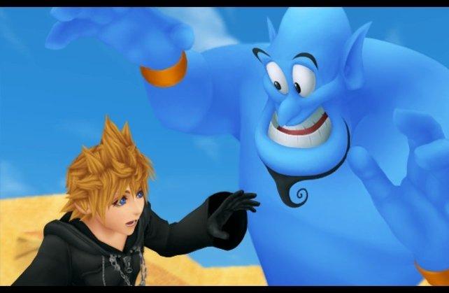 Der Besuch der Disneywelten ist das Highlight des Spieles.