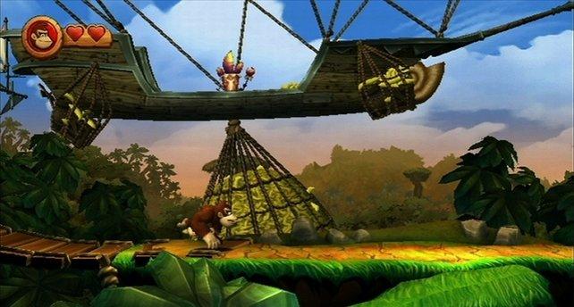 Donkey Kong will seine Bananen wieder. JETZT!