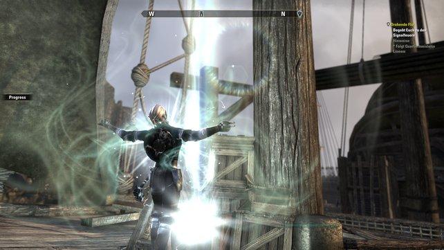 The Elder Scrolls Online bietet bemerkenswerte Grafik-Effekte.