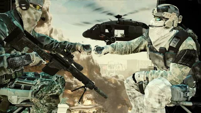 Teamarbeit ist ein wichtiger Faktor in Future Soldier.