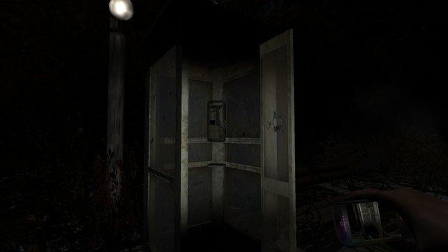 Hier seid ihr auf dem Weg in das Waisenhaus.