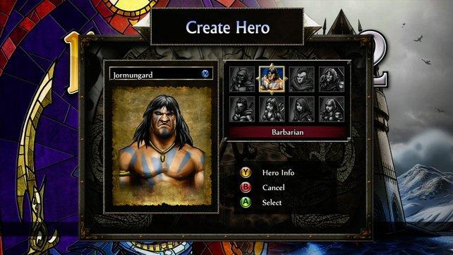 Barbaren sind ein knurriges Völkchen. (Screenshot Xbox360)