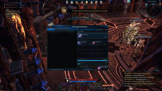Das Handwerk ist in Online-Rollenspielen viel wichtiger als bei der Einzelspielerkonkurrenz.