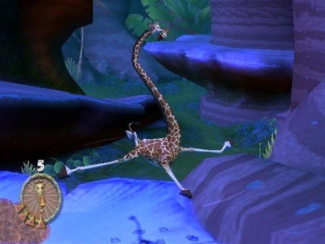 Die tollpatschige Giraffe!