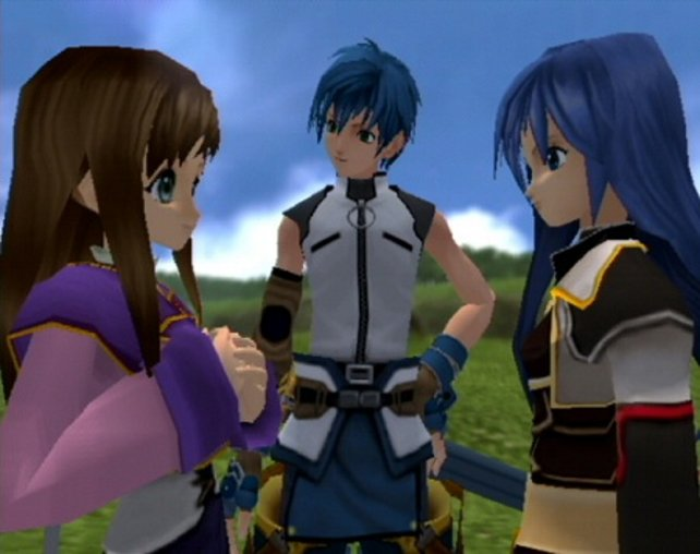 Dass Star Ocean - Till the End of Time aus Japan stammt, ist unverkennbar.