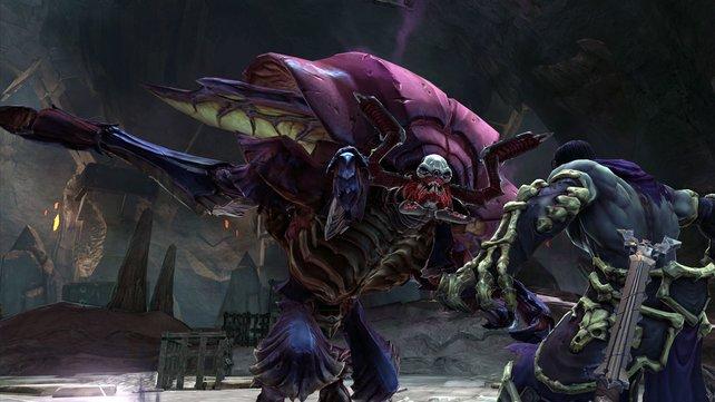 Das Monsterdesign ist gleichermaßen ideenreich wie eklig.