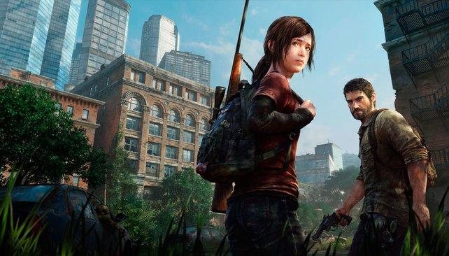 Die beiden Hauptdarsteller Ellie und Joel kämpfen ums Überleben.