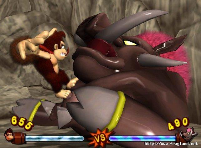 Donkey Kong Jungle Beat war noch eines der erfolgreicheren Spiele aus der trostlosen Zeit um 2005.