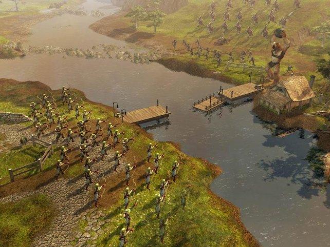Elben vs. Orks