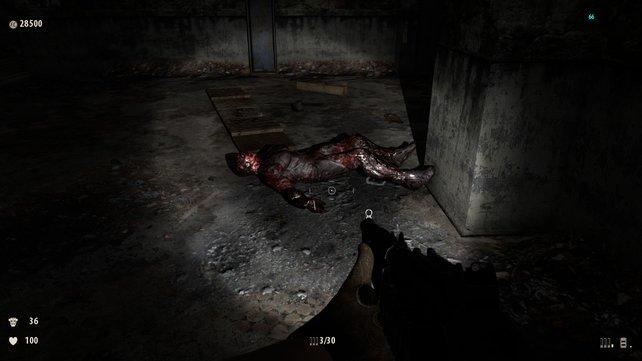 Angstfaktor - Wie dieser Kerl gestorben ist bleibt euch verborgen.