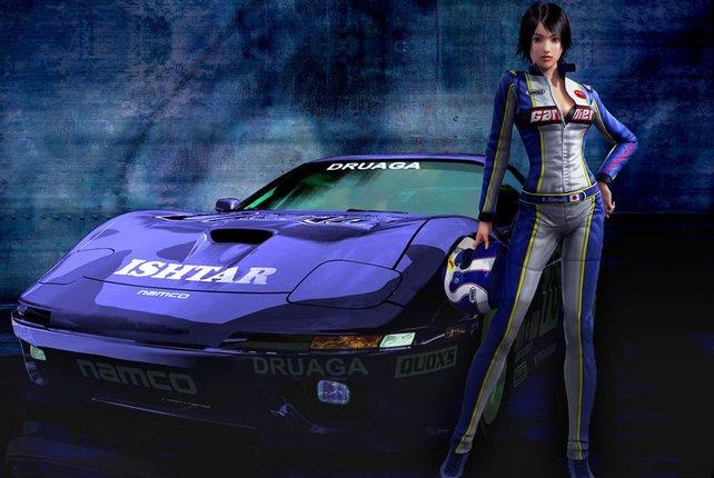 Schnelle Autos und rennbegeisterte Frauen: Das ist Ridge Racer.