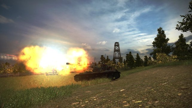 Einer der neuen französischen Panzer: AMX 13-90.