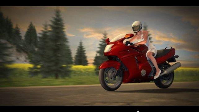 Pferdekutschen sind von gestern. Mit dem Motorrad zur Hochzeit heißt der neuste Trend.