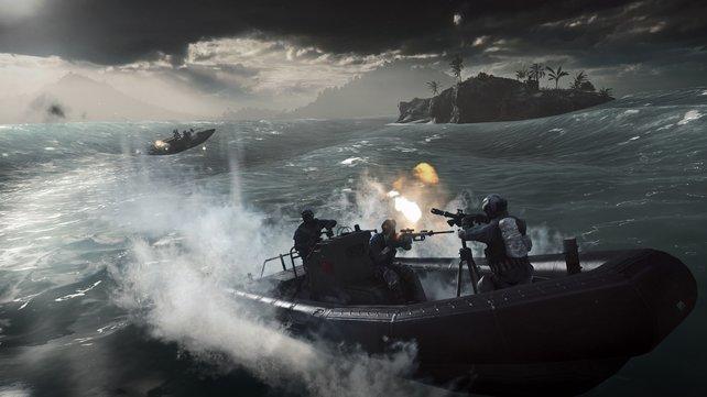 Battlefield 4  bietet Gefechte zu Land zu Wasser und in der Luft.