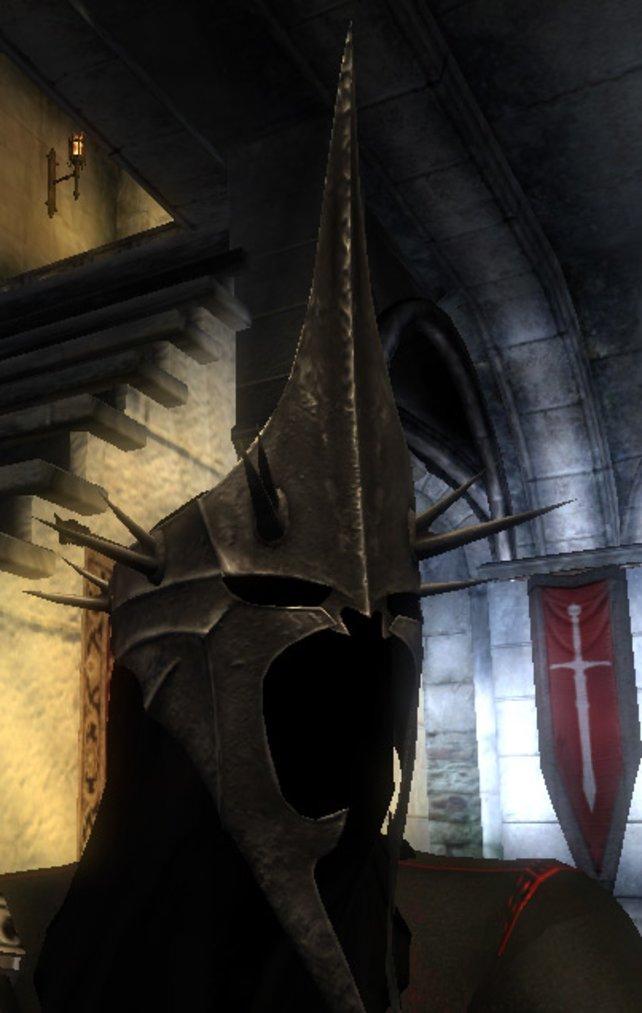 Der Helm des Hexenkönigs.