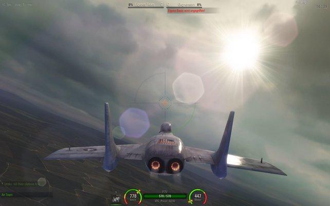 Patch 0.4.0 verbessert mit neuen Lichteffekten und hübscheren Texturen die Grafik von World of Warplanes.