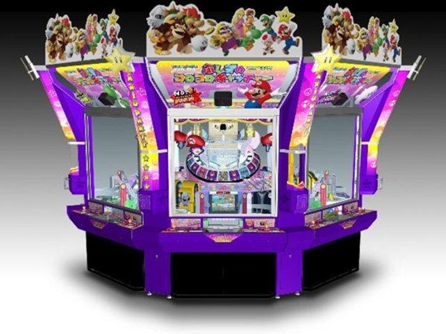 Mario Party Fushigi no Korokoro Kyaccha, einer der drei Spielhallen-Automaten aus der Mario-Party-Serie.