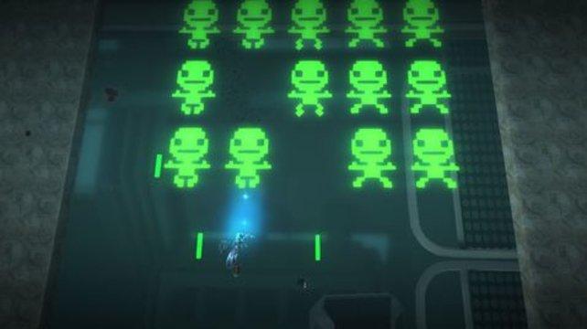 So sieht ein Sack Invader aus, wenn die Profis von Media Molecule die Idee umsetzen.