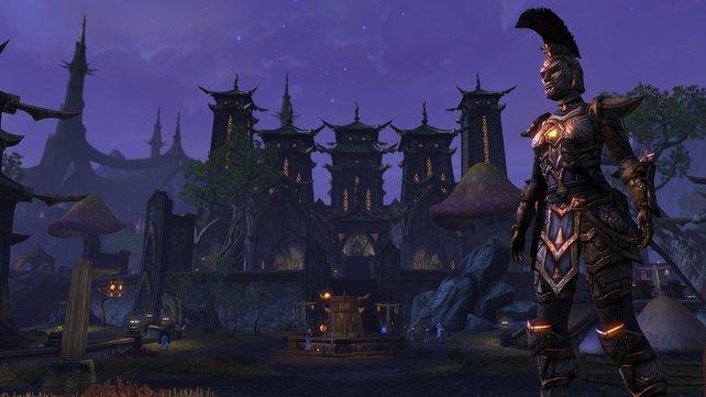 Eine fantasievolle Welt mit ausbaubaren Charakteren ist die Basis von The Elder Scrolls Online.