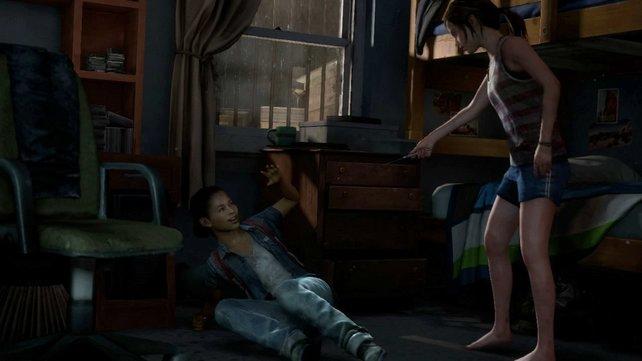 Die einzige Verbündete von Ellie ist ihre Freundin Riley. Gemeinsam erkunden die Zwei ihre Umgebung.
