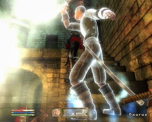 Stirbt Baurus, ein wichtiges Mitglied der Klingen, könnt ihr ihn einfach wiederbeleben.