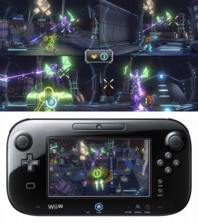 Nintendo Land bindet das Gamepad clever ins Spielgeschehen ein.