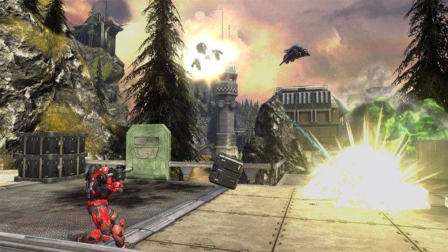 Auch in Zukunft gibt es solchen Nachschub für Halo.