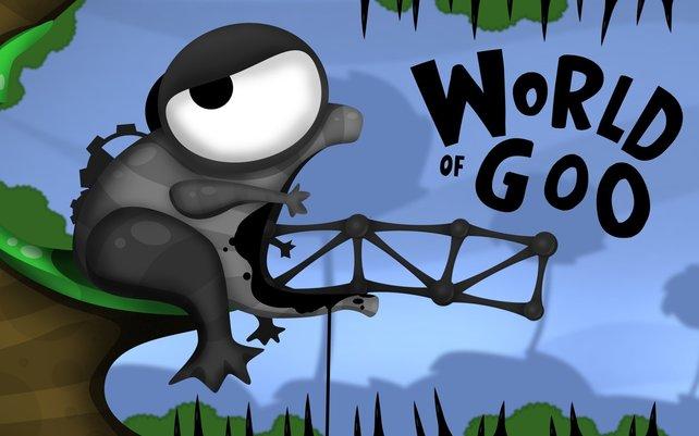 World of Goo wartet mit einer witzigen Präsentation auf.