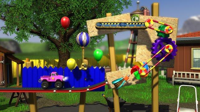 """In Fachkreisen nennt man eine solche Konstruktion eine """"Rube Goldberg Device""""."""