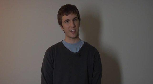 """Dieser Mann hat die Geschichte """"Ben Drowned"""" erfunden - und will jetzt einen Film drehen."""