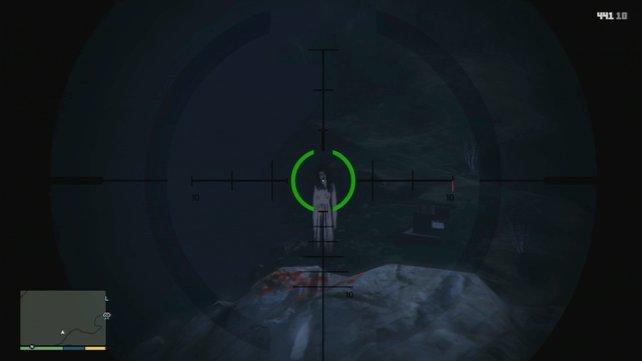 Gruselig: Sogar ein Geist sucht euch in GTA 5 heim.