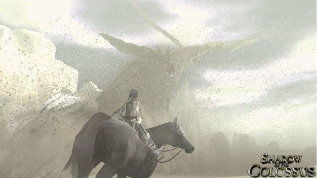 Die Kolosse in Shadow of the Colossus sind riesig. Und mit riesig meinen wir Hochhaushoch riesig.