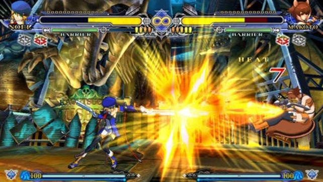 Grafisch gehört BlazBlue zu den schönsten Vita-Spielen.