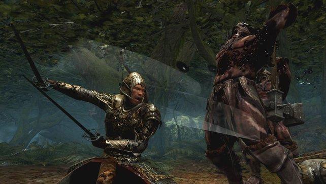Das Spiel ist sehr brutal, Blut fließt in rauen Mengen.