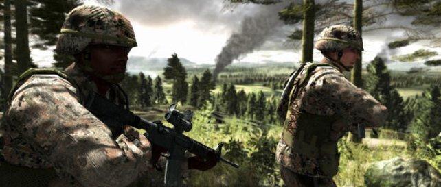 US Soldaten rücken vor