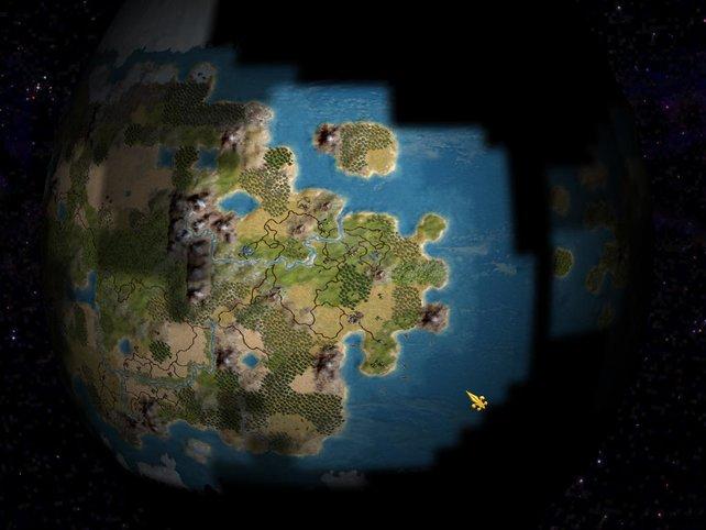 Die Welt von weiter oben