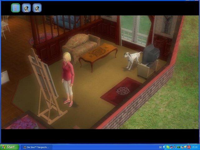 Mit ihrem Hund Sam wird Alice um das hübche Haus kämpfen