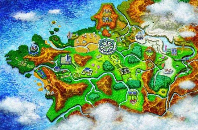 Das Land Kalos basiert zum ersten Mal auf einer europäische Region, nämlich Frankreich.