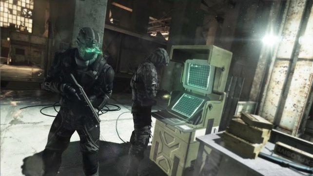 Schaffen es die Spione die Computer zu hacken, bevor es die Söldner bemerken?