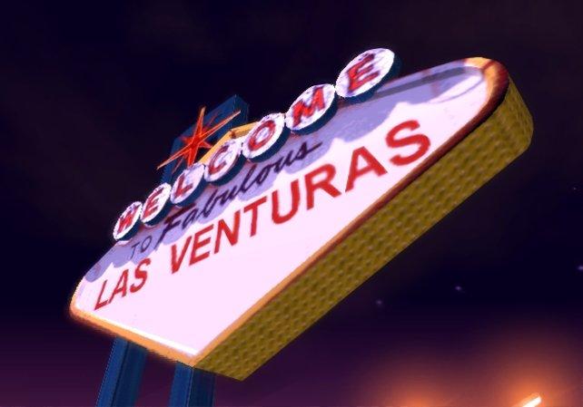 Nach dem Abbild von Las Vegas errichtet.